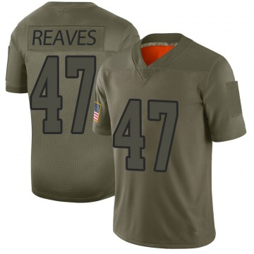 Youth Nike Los Angeles Rams Greg Reaves Camo 2019 Salute to Service Jersey - Limited