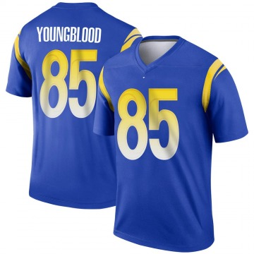 Youth Nike Los Angeles Rams Jack Youngblood Royal Jersey - Legend