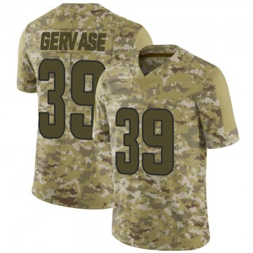 Youth Nike Los Angeles Rams Jake Gervase Camo 2018 Salute to Service Jersey - Limited