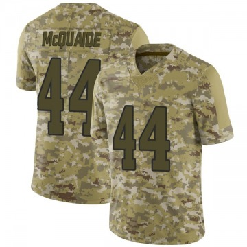 Youth Nike Los Angeles Rams Jake McQuaide Camo 2018 Salute to Service Jersey - Limited