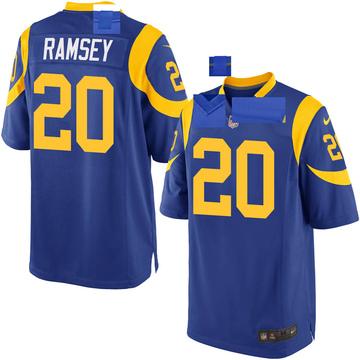 Youth Nike Los Angeles Rams Jalen Ramsey Royal Jalen ey Alternate Jersey - Game