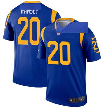 Youth Nike Los Angeles Rams Jalen Ramsey Royal Jalen ey Jersey - Legend