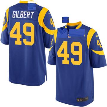 Youth Nike Los Angeles Rams James Gilbert Royal Alternate Jersey - Game