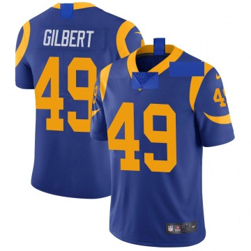 Youth Nike Los Angeles Rams James Gilbert Royal Alternate Vapor Untouchable Jersey - Limited