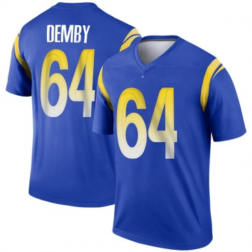 Youth Nike Los Angeles Rams Jamil Demby Royal Jersey - Legend