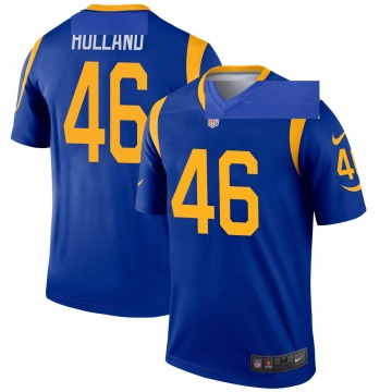 Youth Nike Los Angeles Rams Jeff Holland Royal Jersey - Legend