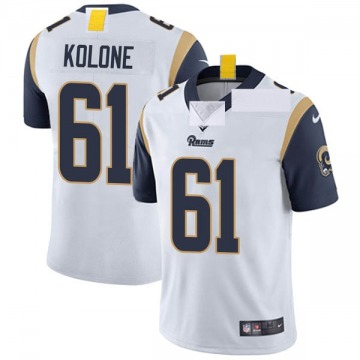 Youth Nike Los Angeles Rams Jeremiah Kolone White Vapor Untouchable Jersey - Limited