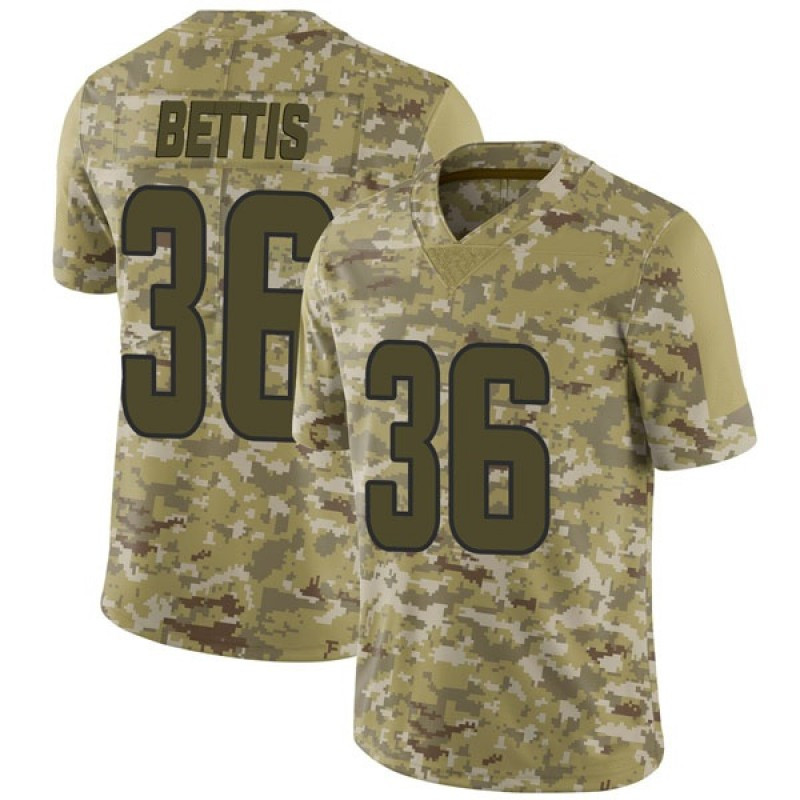 official photos 9782a a0ccf Youth Nike Los Angeles Rams Jerome Bettis Camo 2018 Salute to Service  Jersey - Limited