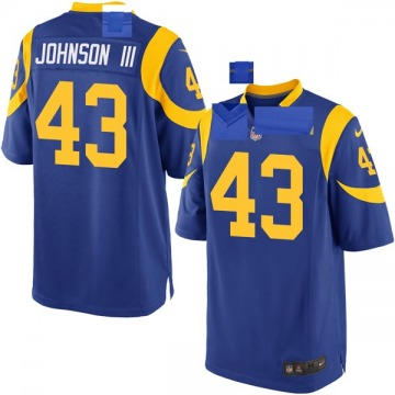 Youth Nike Los Angeles Rams John Johnson III Royal Alternate Jersey - Game