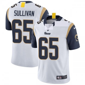 Youth Nike Los Angeles Rams John Sullivan White Vapor Untouchable Jersey - Limited