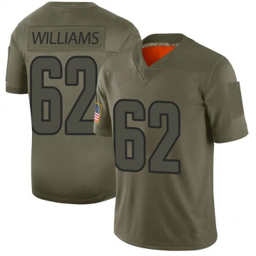 Youth Nike Los Angeles Rams Jonah Williams Camo 2019 Salute to Service Jersey - Limited