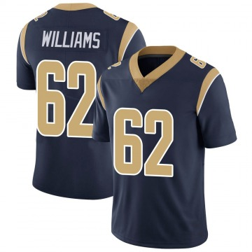 Youth Nike Los Angeles Rams Jonah Williams Navy Team Color Vapor Untouchable Jersey - Limited