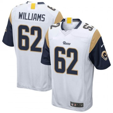 Youth Nike Los Angeles Rams Jonah Williams White Jersey - Game