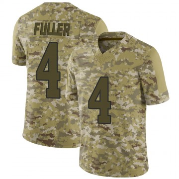 Youth Nike Los Angeles Rams Jordan Fuller Camo 2018 Salute to Service Jersey - Limited