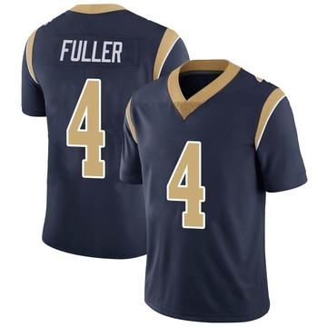 Youth Nike Los Angeles Rams Jordan Fuller Navy Team Color Vapor Untouchable Jersey - Limited