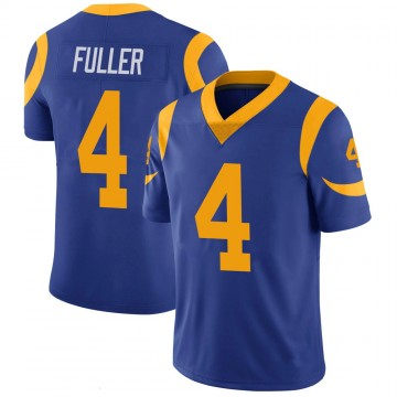 Youth Nike Los Angeles Rams Jordan Fuller Royal 100th Vapor Jersey - Limited