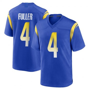 Youth Nike Los Angeles Rams Jordan Fuller Royal Alternate Jersey - Game