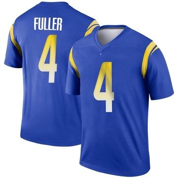 Youth Nike Los Angeles Rams Jordan Fuller Royal Jersey - Legend