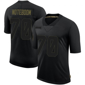 Youth Nike Los Angeles Rams Joseph Noteboom Black 2020 Salute To Service Jersey - Limited