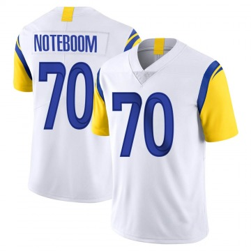 Youth Nike Los Angeles Rams Joseph Noteboom White Vapor Untouchable Jersey - Limited
