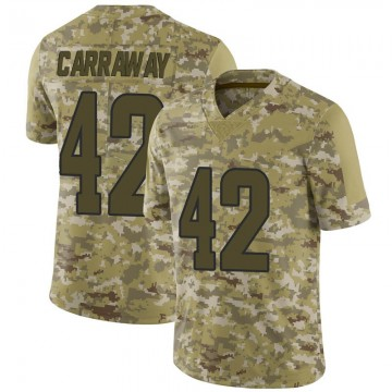 Youth Nike Los Angeles Rams Josh Carraway Camo 2018 Salute to Service Jersey - Limited