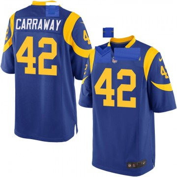 Youth Nike Los Angeles Rams Josh Carraway Royal Alternate Jersey - Game