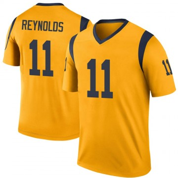 Youth Nike Los Angeles Rams Josh Reynolds Gold Color Rush Jersey - Legend