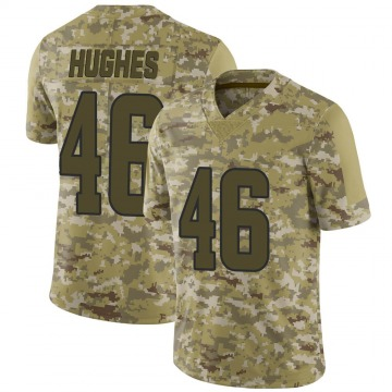 Youth Nike Los Angeles Rams Juju Hughes Camo 2018 Salute to Service Jersey - Limited