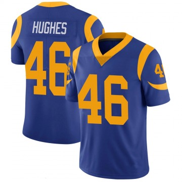 Youth Nike Los Angeles Rams Juju Hughes Royal 100th Vapor Jersey - Limited