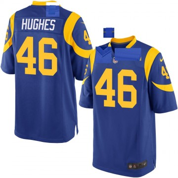 Youth Nike Los Angeles Rams Juju Hughes Royal Alternate Jersey - Game
