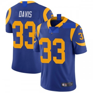 Youth Nike Los Angeles Rams Justin Davis Royal Alternate Vapor Untouchable Jersey - Limited