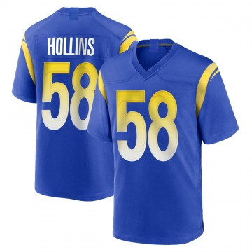 Youth Nike Los Angeles Rams Justin Hollins Royal Alternate Jersey - Game