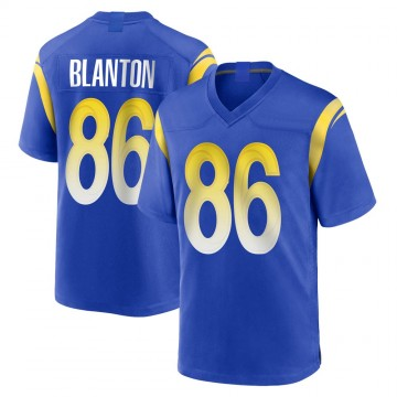 Youth Nike Los Angeles Rams Kendall Blanton Royal Alternate Jersey - Game
