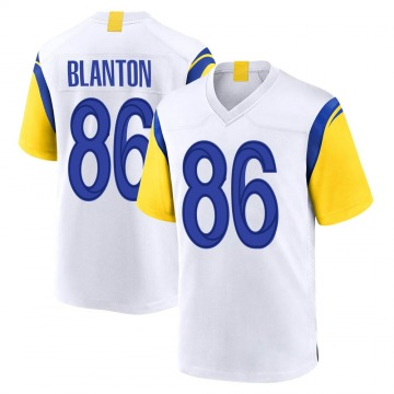 Youth Nike Los Angeles Rams Kendall Blanton White Jersey - Game