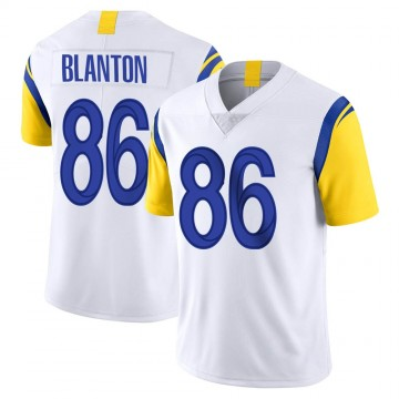 Youth Nike Los Angeles Rams Kendall Blanton White Vapor Untouchable Jersey - Limited