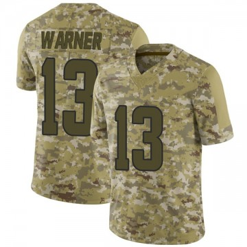 Youth Nike Los Angeles Rams Kurt Warner Camo 2018 Salute to Service Jersey - Limited