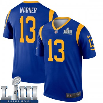 Youth Nike Los Angeles Rams Kurt Warner Royal Super Bowl LIII Bound Jersey - Legend