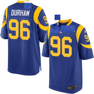 Youth Nike Los Angeles Rams Landis Durham Royal Alternate Jersey - Game