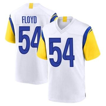 Youth Nike Los Angeles Rams Leonard Floyd White Jersey - Game