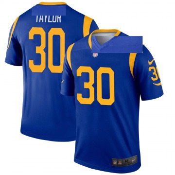 Youth Nike Los Angeles Rams Levonta Taylor Royal Jersey - Legend