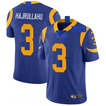 Youth Nike Los Angeles Rams Lirim Hajrullahu Royal Alternate Vapor Untouchable Jersey - Limited
