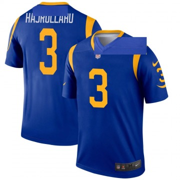 Youth Nike Los Angeles Rams Lirim Hajrullahu Royal Jersey - Legend