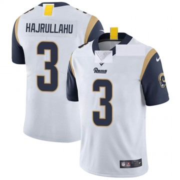 Youth Nike Los Angeles Rams Lirim Hajrullahu White Vapor Untouchable Jersey - Limited