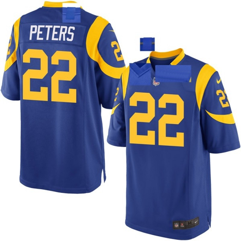 fad4975a Youth Nike Los Angeles Rams Marcus Peters Royal Alternate Jersey - Game