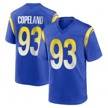 Youth Nike Los Angeles Rams Marquise Copeland Royal Alternate Jersey - Game