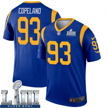 Youth Nike Los Angeles Rams Marquise Copeland Royal Super Bowl LIII Bound Jersey - Legend