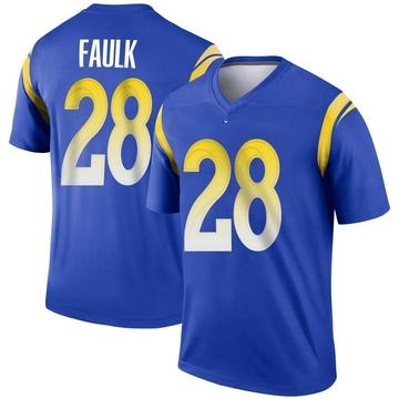 Youth Nike Los Angeles Rams Marshall Faulk Royal Jersey - Legend