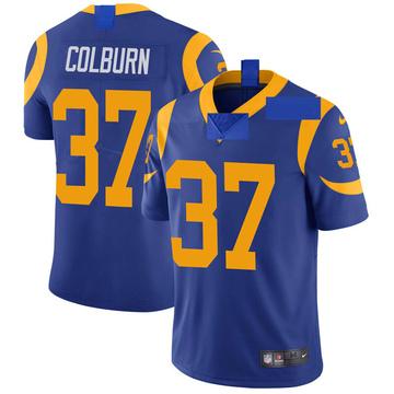 Youth Nike Los Angeles Rams Matt Colburn Royal Alternate Vapor Untouchable Jersey - Limited