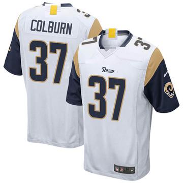 Youth Nike Los Angeles Rams Matt Colburn White Jersey - Game