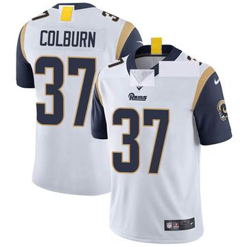 Youth Nike Los Angeles Rams Matt Colburn White Vapor Untouchable Jersey - Limited